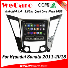 Wecaro WC-HS8027 Android 4.4.4 car dvd player for Hyundai SONATA 2011 2012 2013 with radio 3G wifi playstore
