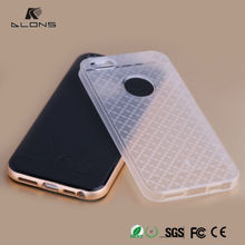 Soft Super Ultra-thin Clear TPU Case for Apple iPhone 5 5S Back Cover Protect Skin Metal