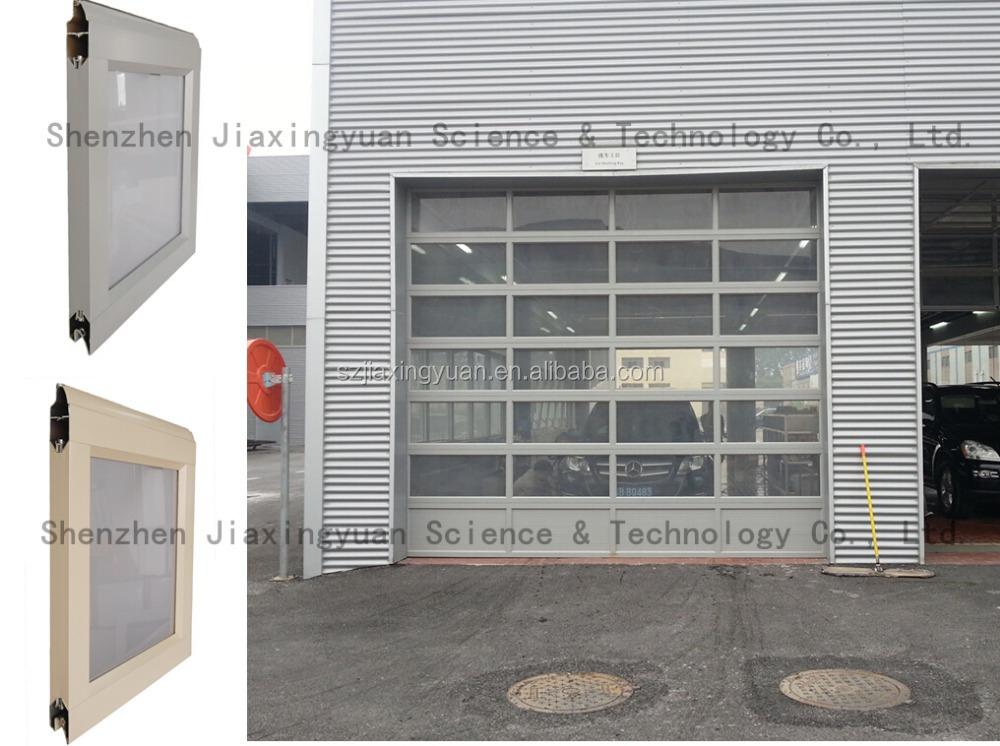 Frosted Glass Clear Glass Plexiglass Automatic Folding Garage