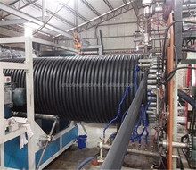 NY1130 HDPE large caliber spiral winding pipe plastic machines small manufacturing machines alibaba express hot production line