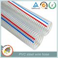 7 pouces diamètre pvc fil d'acier flexible tuyau