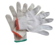 7G \ 10 G poli algodão luvas de trabalho