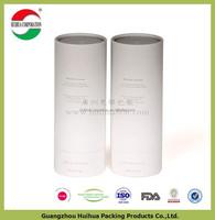 Light weight Round Cardboard storage cylinder Tubes Food Packaging , craft paper box