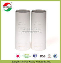 Light weight Round Cardboard storage cylinder Tubes Food Packaging , craft paper box