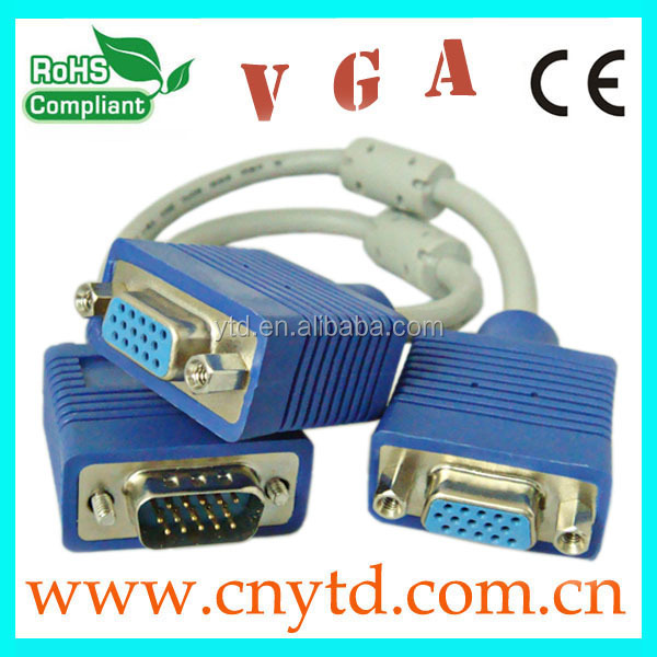 Hot sale high quality vga rca cable