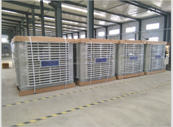 evaporative air cooler type and new condition low noise industrial 18000m3/h evaporative air cooler