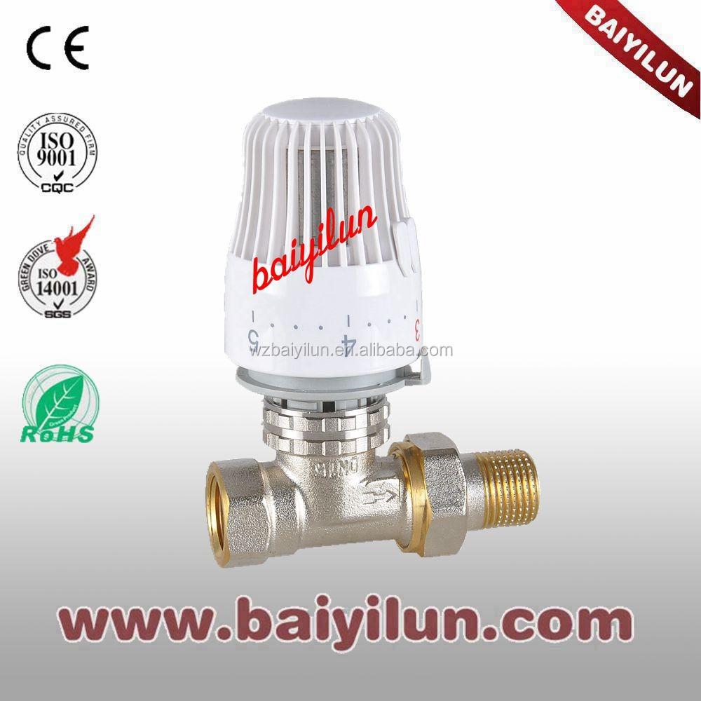 Термостатический клапан Радиатора с K тип; клапан контроля температуры; сочетание прямой клапан и угловой клапан