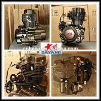 Single Cylinder Air Cooled Loncin 200cc 3 Wheel Motorcycle Engine