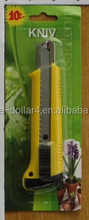 KNIFE MADE FROM STAINLESS STEEL/KNIFE FOR OFFICE AND SCHOOL USE/UTILITY KNIFE