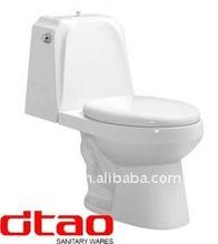 two piece WC bathroom ceramic toilet