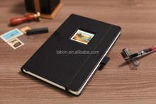 hardcover notebooks photos album on the front cover