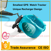 Personal micro gps tracker watch phone with inbuilt battery voice monitor function