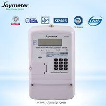 three Phase Prepaid Energy/electric Meter