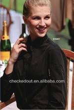 Famale modelos camisa& de moda de largo- manga negro mujeres shirt#wholesale shirt=in- stock camisa de la mujer