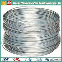 q195 galvanised wire for fencing/ 1.6mm metal ties/bailing wire(manufacture)