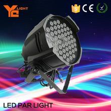 Tested Factory In Guangzhou RGBW 4in1 54X3W Led Par Can