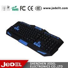 Good Price USB Wired Ergonomic Gaming & Multimedia Keyboard