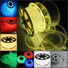 2015 Shenzhen manufactory led supplier ETL 110V 220V waterproof color changable 5050 RGB led strip light SMD5050 50m/Roll