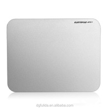 Gaming Mouse Pad Design with Double Sides Aluminium Alloy Mousepad Mat 280*220*2mm Simplicity Cool Mousepad for dota 2 cs go