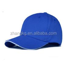 Cap with sandwich ,10*10 100% brush cotton baseball cap ,2016 caps design