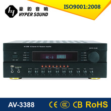 2015 New product 5.1 car audio amplifier amplifier with USB/AM/FM