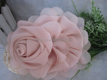Wholesale high quality china fabric artificial flowers