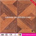 madera de nogal americano suelo porcelánico acabado de madera de piso de cerámica