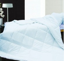 100%cotton material white duck down comforter