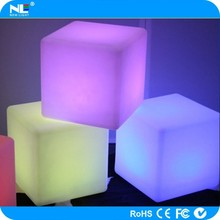 china supplier competitive price new design LED cube table / LED lighting table furniture / LED cube furniture