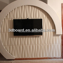 good quality eco-friendly Interior decoration 3-dimensional fiber board