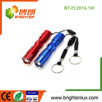 Ningbo Factory Supply Promotional Souvenir Metal Smart key chain flashlight