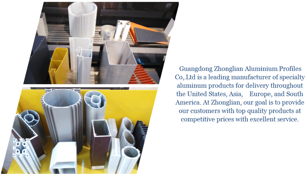 Chine top aluminium profil fabricants projet de construction en aluminium mur Rideau pour le marché de L'inde