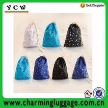 Fashion design EXO BIGBANG infinite travel mini size makeup bag cotton drawstring bag