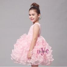 Satin Baby Girl Cupcake Tutu Wedding Party Dress Pakistani Children Frocks Designs
