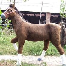 plush horse stuffed animal walking plush playground large stuffed animals