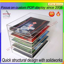 Chinese factory wholesale acrylic acrylic office document display