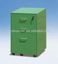 Green Desk with cabinet bookcase/under desk file cabinet/credenza, hutch