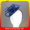 100% sinamay royal mini top hat headband fascinator wholesale