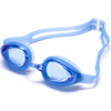 Latest racing silicone swimming goggles water sports eyewear for junior made in China