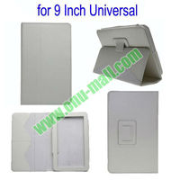 high quality Leather flip Universal 9 Inch Tablet Case With Stand