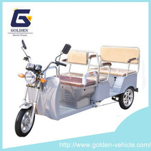 Electric Tricycle for Passenger With Back to Back Seat