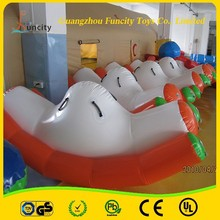 Fashion water toys inflatable water floating totter for adults and kids