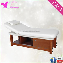 OEM super quality wooden facial bed /massage roller bed MD48