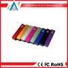 2600mAh Lipstick power bank aluminum shell 18650 battery cell