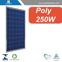 250 watt photovoltaic solar panel for on grid and off grid system