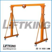 light weight hand push compact/simple gantry crane