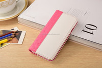 Fuxia Fashionable wallet cover, stylish case with exotic print, PU fashion leather case