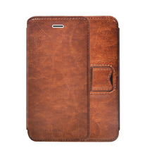 Genuine Flip Leather Cell Phone Case Wallet For Iphone 6s