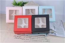 Cake Box/Cupcake Box/Box for Cupcake ( 1 4 6 12 cups )