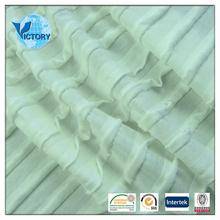 cheap Beef Omasum Interlock Knit Fabric of 100% Cotton for Fashion Dresses